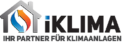 Günstige Klimaanlagen online kaufen + Montage bei iKlima - Logo